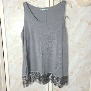 Maurices Tank Top XL Gray